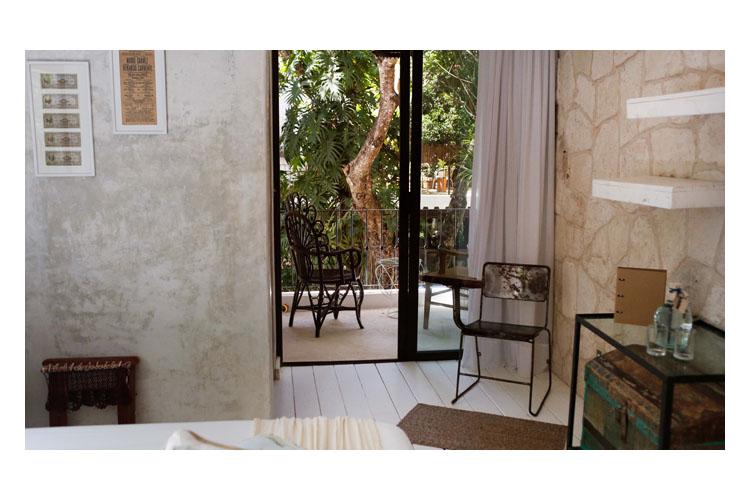 Double Room with Terrace - Hotel la Semilla - Playa del Carmen
