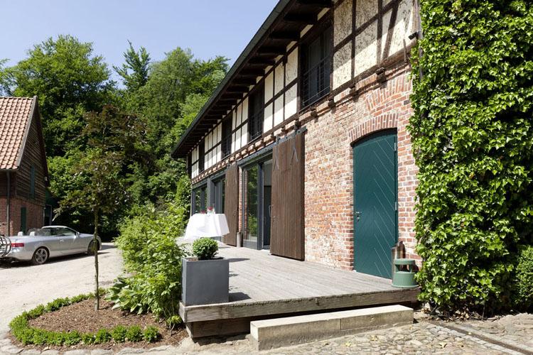 Facade - Hotel zur Kloster-Mühle - Gross Meckelsen