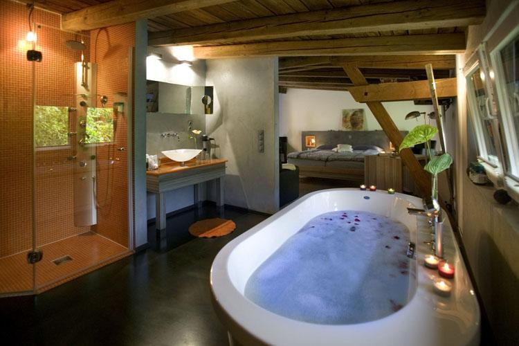 Bathroom - Hotel zur Kloster-Mühle - Gross Meckelsen