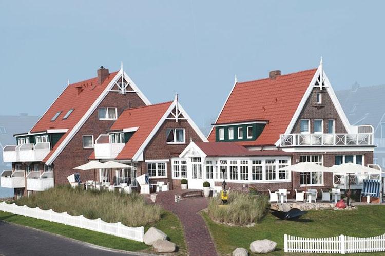 Facade - Hotel Norderriff - Langeoog