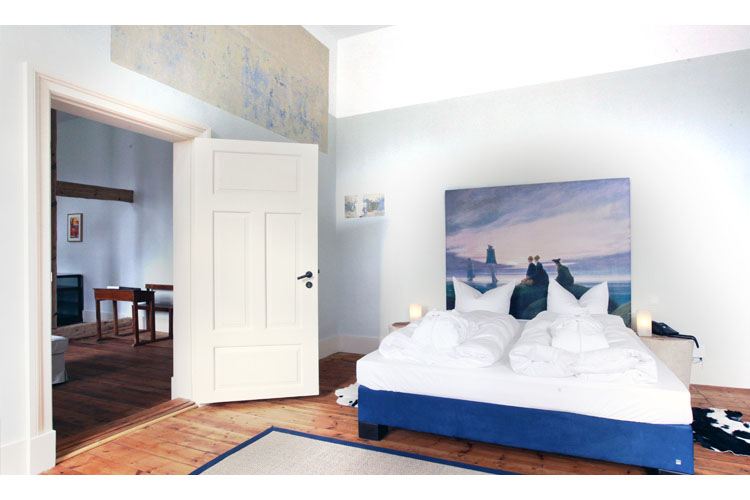 Suite 5 - Kavaliershaus Suitehotel Am Finckener See - Fincken