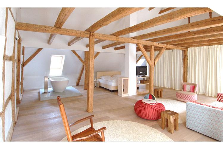 Suite 7 - Kavaliershaus Suitehotel Am Finckener See - Fincken