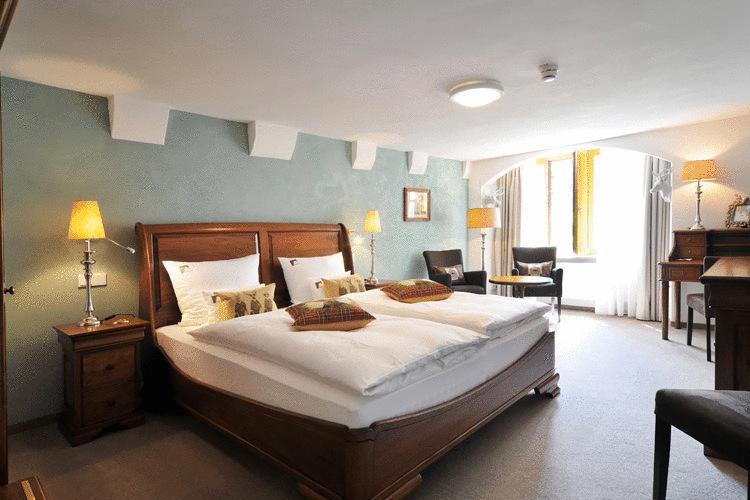 Woodland Double Room - Hotel herrnschlösschen - Rothenburg ob der Tauber