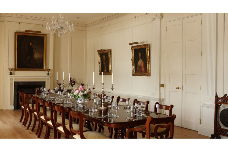 Dining Room - Pentillie Castle and Estate - Saltash