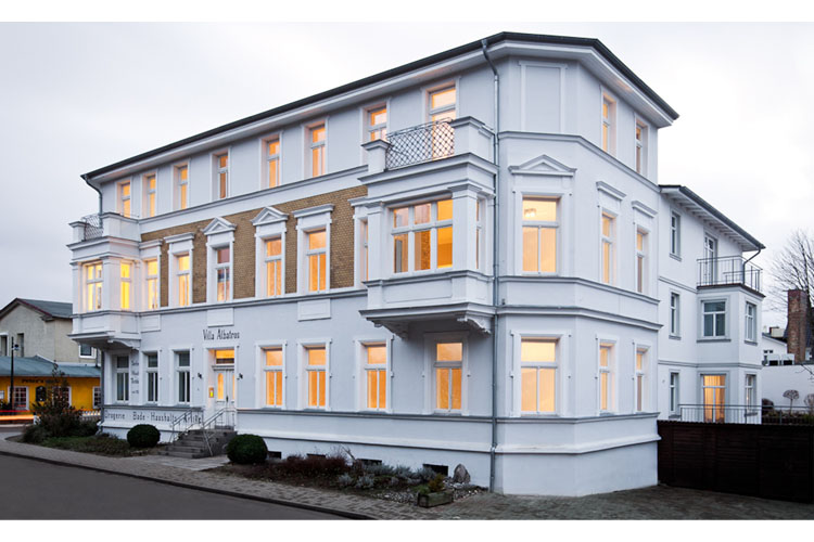 Facade - Villa Albatros - Ahlbeck