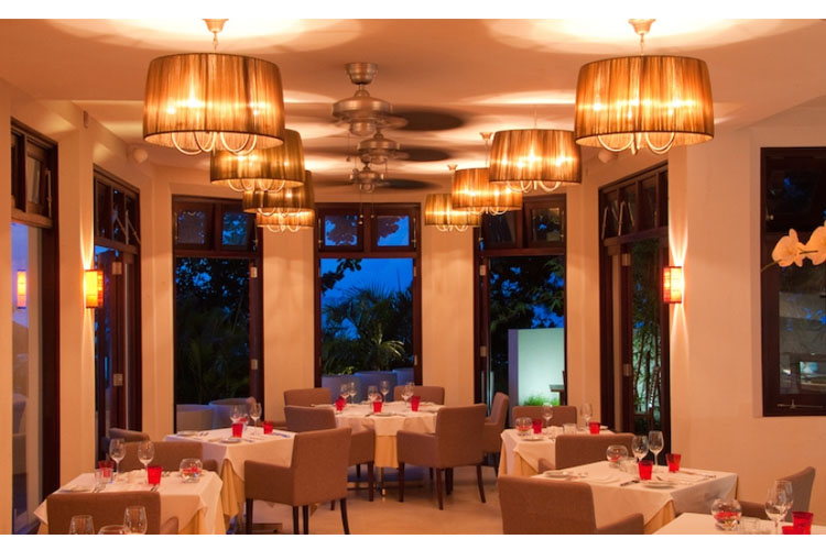 Dining Room - Le Cardinal Exclusive Resort - Trou aux Biches