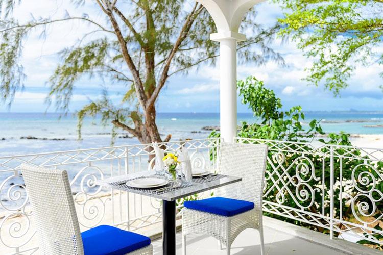 Balcony - Voile Bleue - Pointe aux Piments