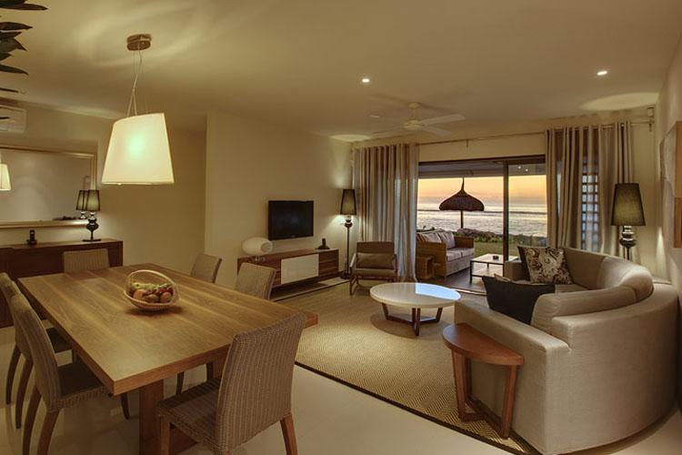Double Room Sea View - Leora Beachfront - Tamarin