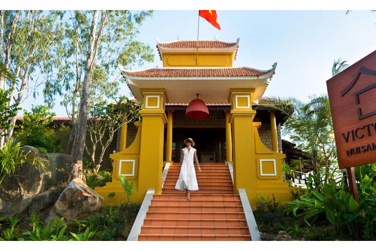Facade - Victoria Nui Sam Lodge - Chau Doc