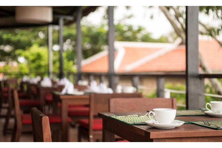 Exterior Dining Room - Victoria Nui Sam Lodge - Chau Doc