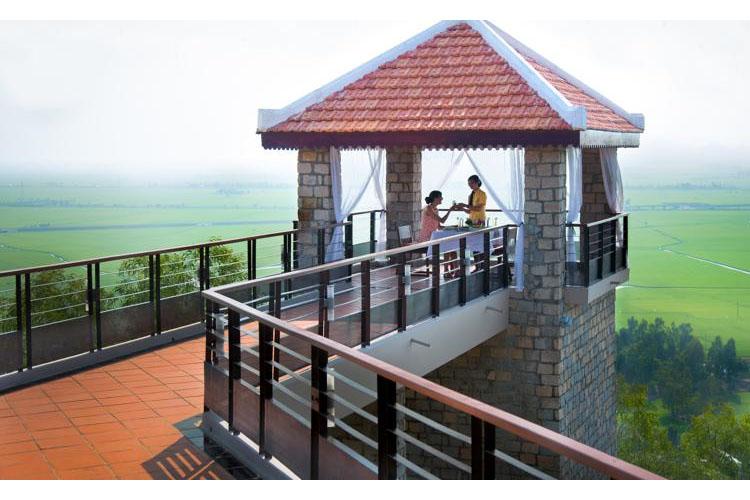 Exterior Common Area - Victoria Nui Sam Lodge - Chau Doc