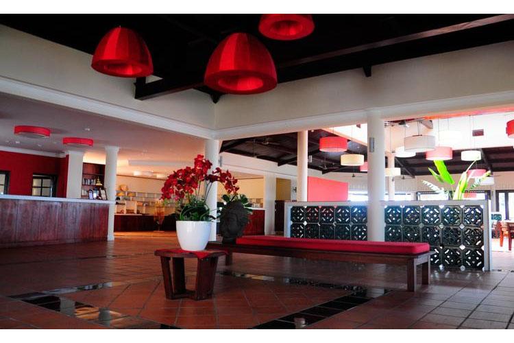 Reception - Victoria Nui Sam Lodge - Chau Doc