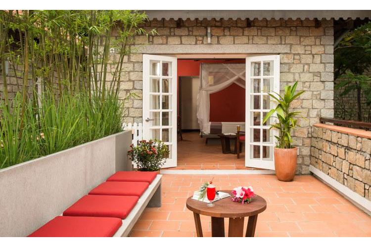 Balcony - Victoria Nui Sam Lodge - Chau Doc