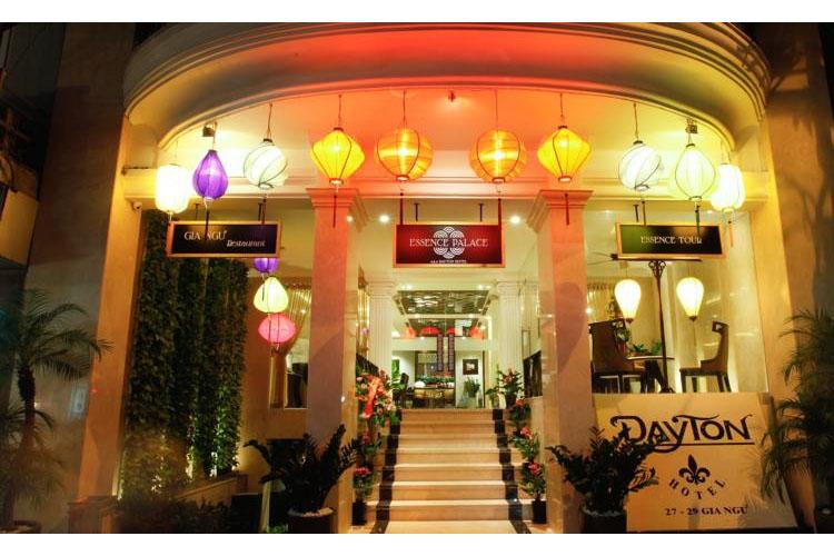 Facade - Essence Palace Hotel - Hanoï
