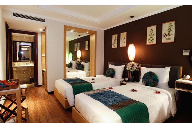 Superior Twin Room - Essence Palace Hotel - Hanoï