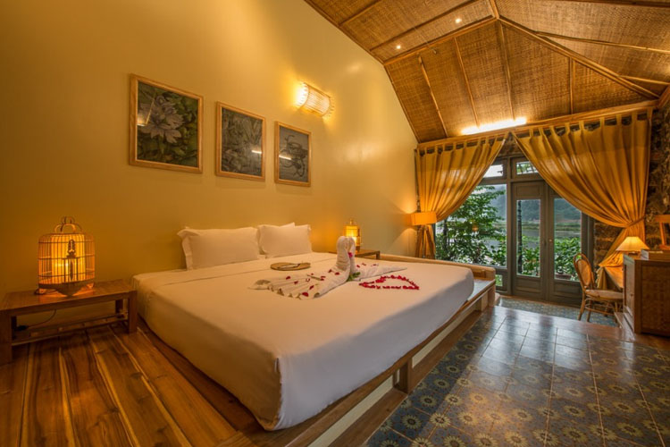 HoneyMoon Room - Tam Coc Garden Resort - Ninh Binh