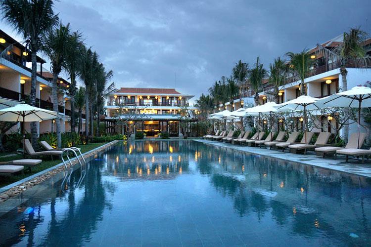 Pool - Vinh Hung Emerald Resort - Hoi An