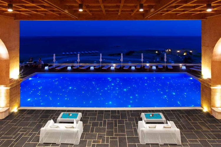 Pool Night View - Boutique 5 - Kiotari