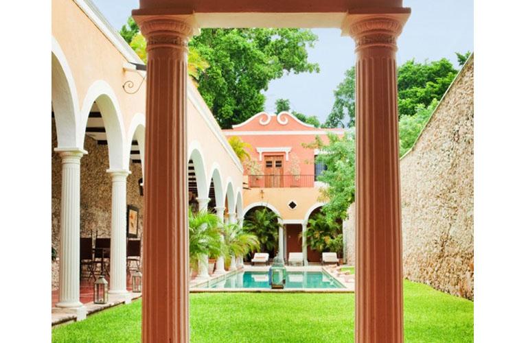 Garden - Hotel Hacienda Mérida VIP - Merida