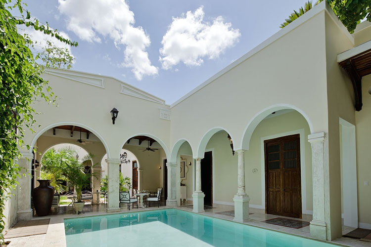 Casa lecanda boutique hotels a boutique hotel in merida for Small great hotels