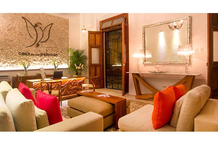 Koox casa de las palomas boutique hotel h tel boutique merida for Great small hotels