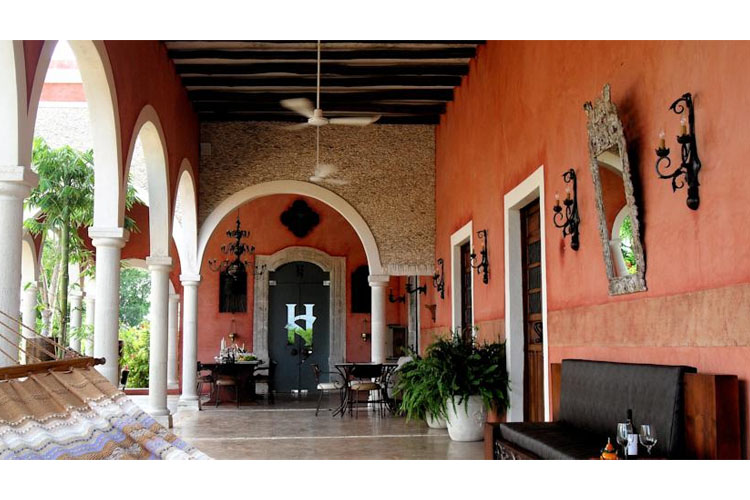 Hacienda sacnicte a boutique hotel in yucat n for Design hotel yucatan