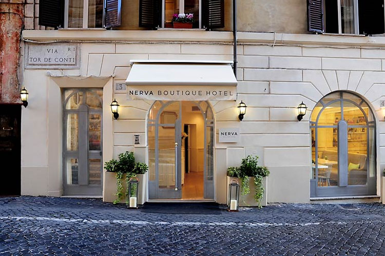 Nerva boutique hotel a boutique hotel in rome for Great small hotels
