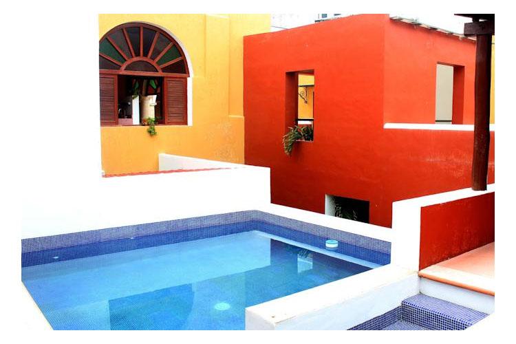 Pool - Casa Don Gustavo Hotel Boutique - Campeche