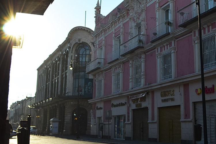 Facade - Hotel Andante - Puebla