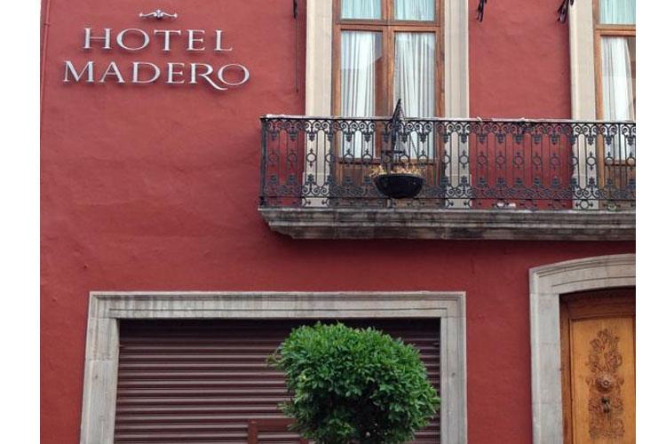 Facade - Hotel Madero - Querátaro