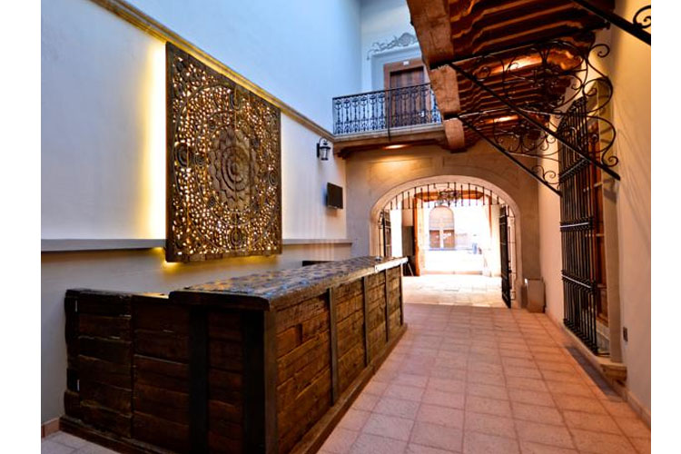 Reception - Hotel Madero - Querátaro