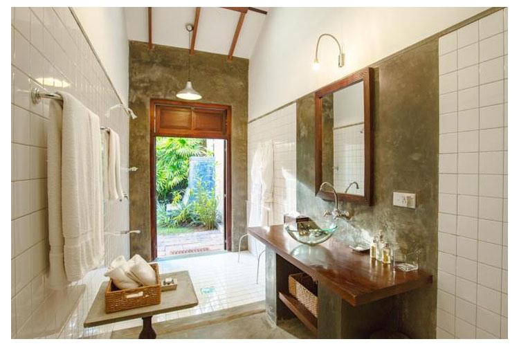 Bathroom - The River House - Balapitiya