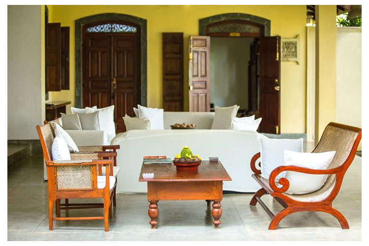 Lounge - The River House - Balapitiya
