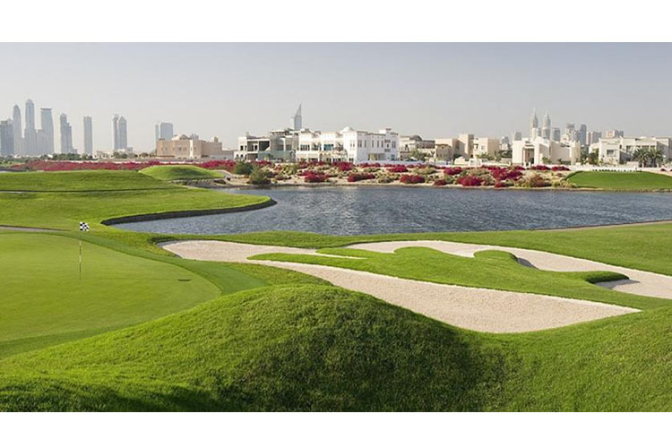 Golf Court - The Address Montgomerie Dubai - Dubai
