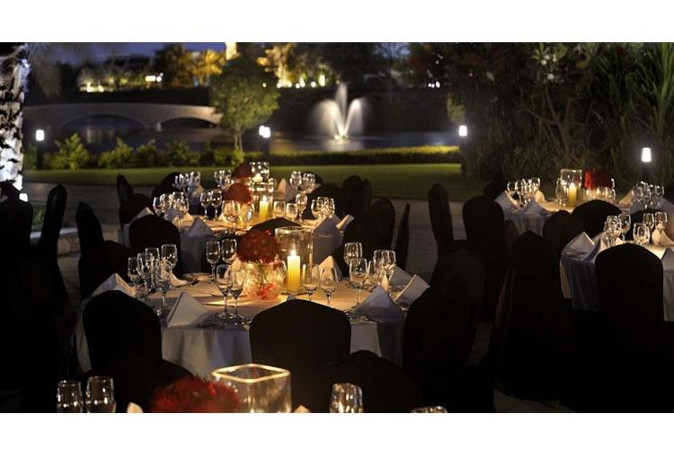 Exterior Dining Room - The Address Montgomerie Dubai - Dubai