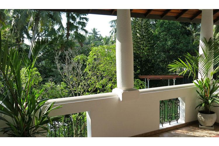 Balcony - The Villa Green Inn - Negombo