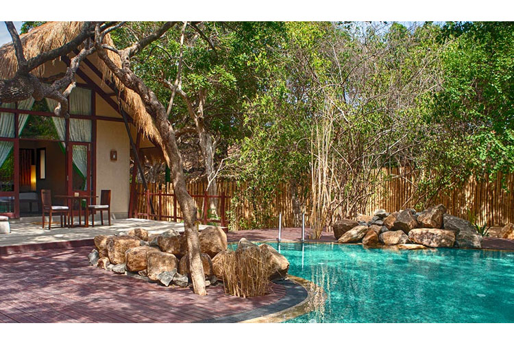 Jungle Cluster Villa - Jungle Beach Resort - Kuchchaveli