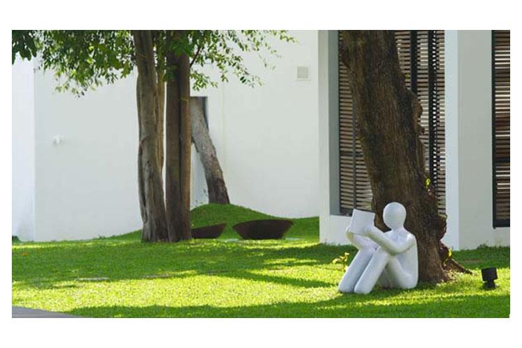 Garden - The Library - Ko Samui