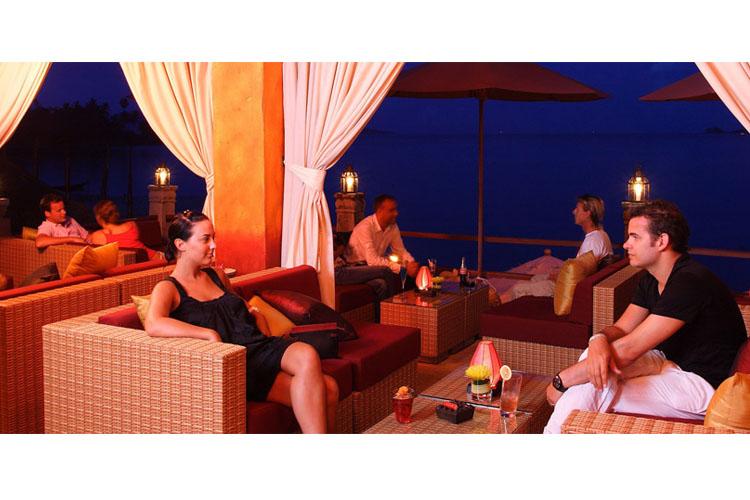 Le Rouge Lounge - Zazen Boutique Resort & Spa - Ko Samui