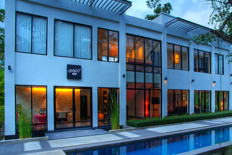 The chill resort spa h tel boutique koh chang for Small great hotels