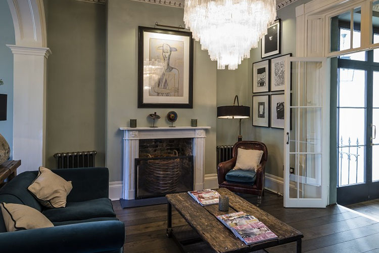 Lounge - No38 The Park - Cheltenham