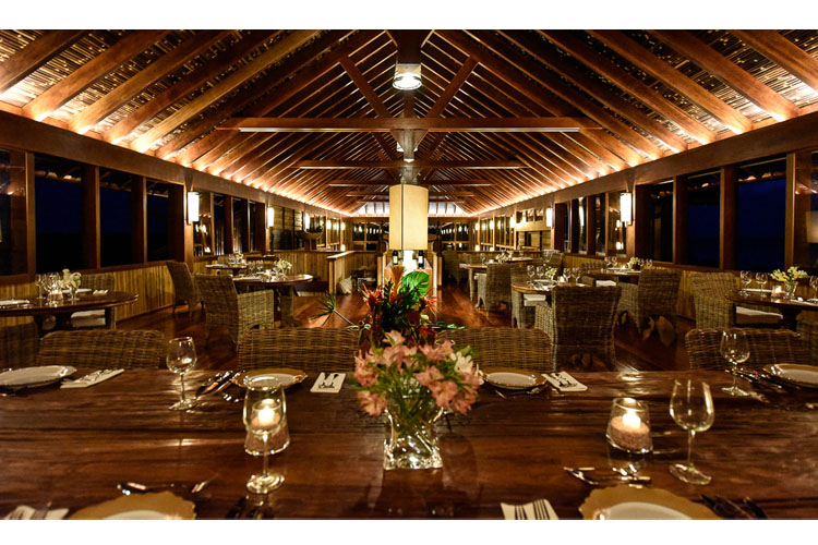 Dining Room - Barbuda Belle - Codrington