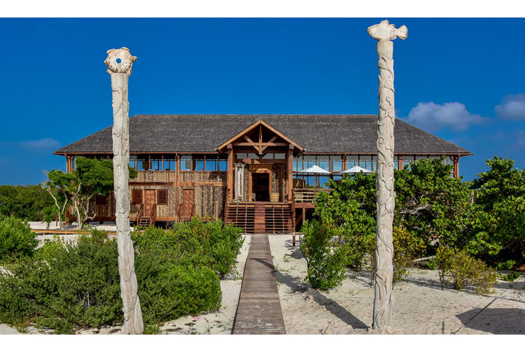 Bungalow Facade - Barbuda Belle - Codrington