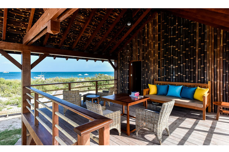 Bungalow Balcony - Barbuda Belle - Codrington