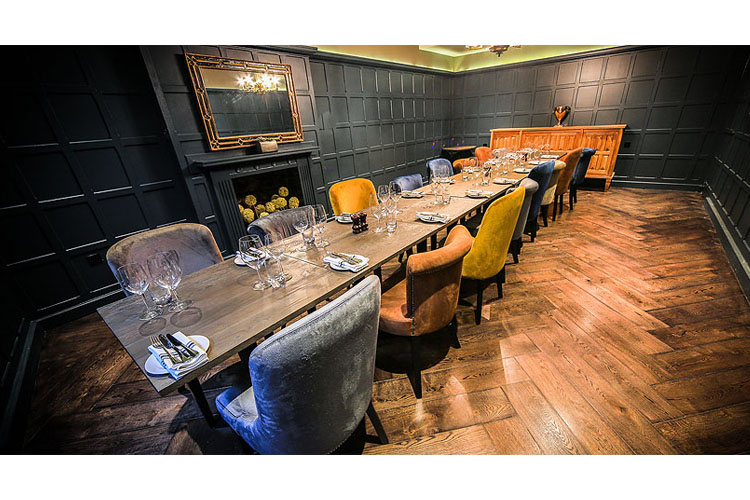 Private Dining Room - Kings Head Hotel - Cirencester
