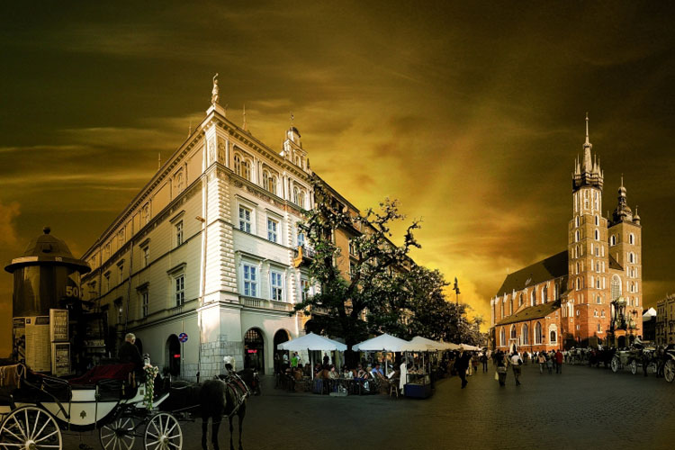 The bonerowski palace h tel boutique cracovie for Great small hotels