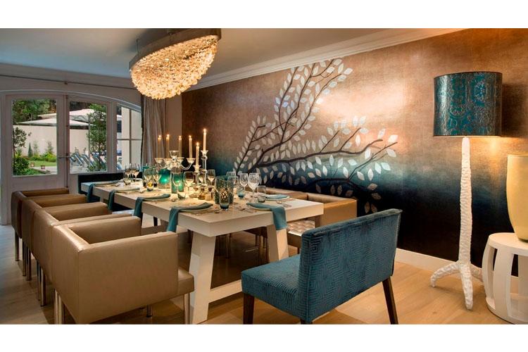 Villa - Dining Room - AtholPlace Hotel & Villa - Johannesburg