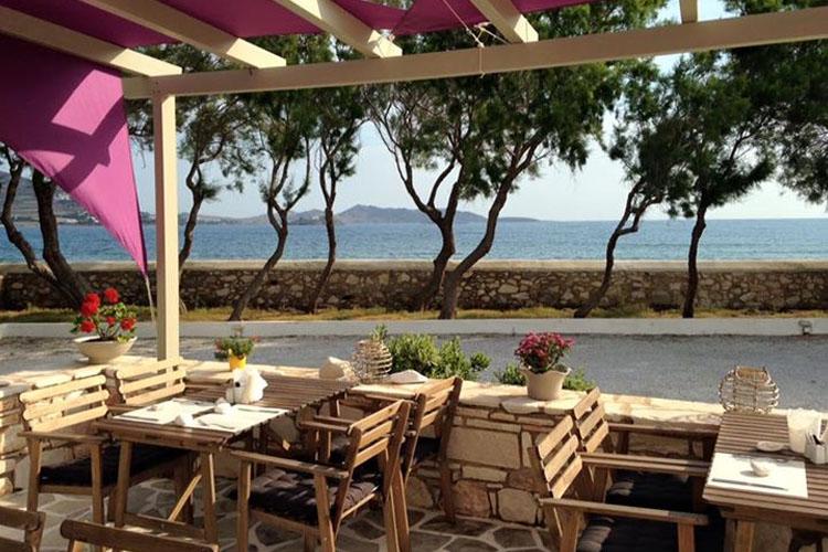 Exterior Dining Room - Almira Suites - Naoussa