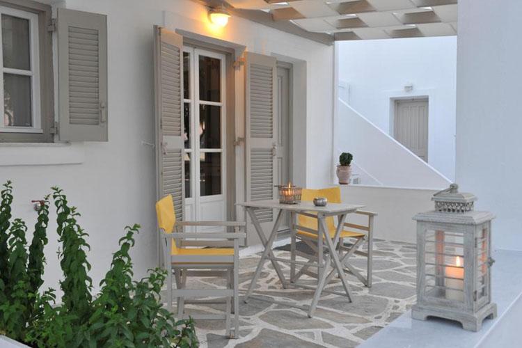 Studio - Terrace - Almira Suites - Naoussa