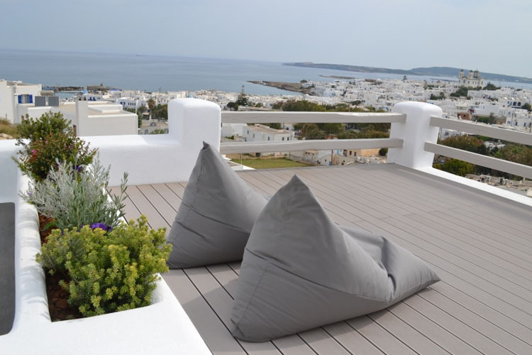 Terrace - Hotel Papadakis - Naoussa